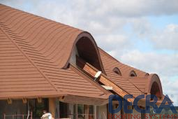 Decra Roofing Systems Shingles Roof Shake Roof Curved
